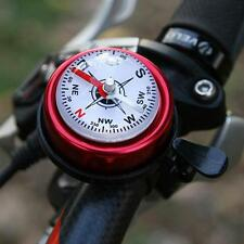 Metal Ring Handlebar Compass Bell Sound Horn Outdoor Sport Cycling Bike Bicycle