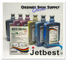 JETBEST Bulk 500ml Roland Mutoh Mimaki Eco Sol & MAX 2 Compatible Ink Save 75%
