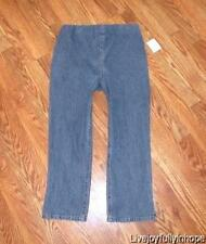 DUO MATERNITY ~ New! Size S or M ~ Panelless Stretch Denim Cropped Jeans Capris