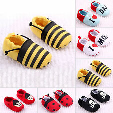 Infant Summer Baby Kid Boy Girl Crib Breathable Shoes Toddler Slip-on Trainers