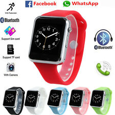 Waterproof Bluetooth Smart Wrist Watch GSM TF Touch Screen For Android IOS Phone