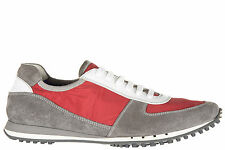CAR SHOE MEN'S SHOES SUEDE TRAINERS SNEAKERS NEW RED 9E7