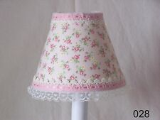 Shabby Rose Chandelier Shades, Lamp Shade or Night Light for Nursery Kid's Room