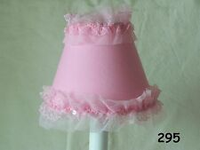 Pirouette Pink Lamp Shade, Chandelier Shades or Night Light for Girl's Bedroom