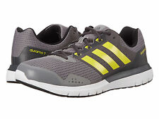 NIB MENS ADIDAS S83234 DURAMO 7 M RUNNING  GRAY YELLOW SHOES SELECT SIZE $90