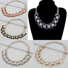 Fashion Women Ladies Chunky Chain Bid Statement Choker Collar Necklace Jewelry