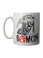 Sons of Anarchy Samcro Reaper White SOA Mug