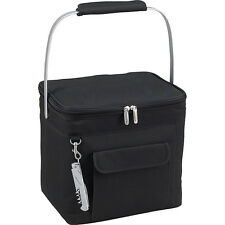 Picnic at Ascot 6 Bottle Insulated Wine Tote- Travel Cooler NEW