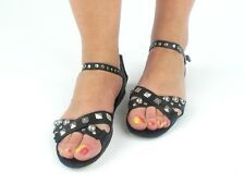 Shoe Biz Sandals Leather sandals Shoes Aabenraa black Studs