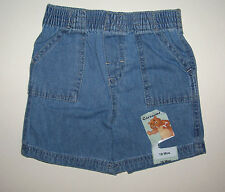 NWT GARANIMALS GIRLS DENIM SHORTS 18 MO