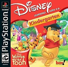 Disney's Winnie the Pooh Kindergarten   Sony PlayStation 1  BRAND NEW SEALED