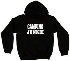 Camping Junkie Men's Hoodie Sweat Shirt Pick Size Small-5XL