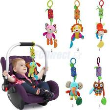 Baby Animal Hanging Toys Rattles Handbells Wind Chime Baby Car Stroller Toys