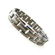 ACCNETS KINGDOM MENS PREMIUM MAGNETIC POWER TITANIUM GOLF BRACELET T25