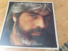 Michael Mcdonald 'Sweet Freedom' The Best Of Michael McDonald 1986 VG COND