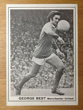 Superb George Best signed picture Manchester United autograph