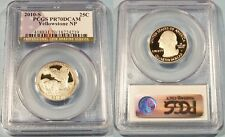 2010-S 25c CLAD PCGS PR70DCAM PROOF YELLOWSTONE QUARTER DEEP CAMEO