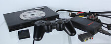 Sony PlayStation 2 bundle, game, memory card + controller - Tested ##athe2JMH
