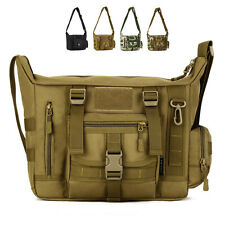 Tactical Shoulder Bag Tactical Messenger Bag Outdoor Travel Bag 14 Inch Laptop