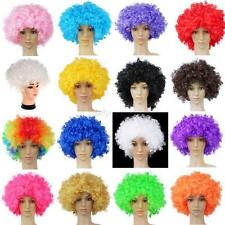 Afro Curly Party 70s 80s Disco Circus Fancy Dress Up Party Costume Clown Wig Hot
