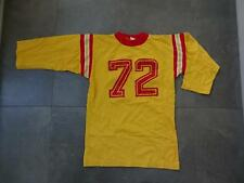 Vintage 1970s/1980s #73 FOOTBALL 3/4 Sleeve T-Shirt Original Small