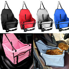 Folding Pet Dog Cat Car Seat Safe Travel Carrier Bag Puppy Handbag Sided Kennel
