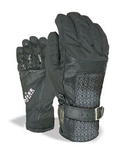 Level Gloves Snowboard gloves Bliss Gem black insulating