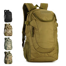 Mens Military Backpack 25L1000D Nylon Backpack Hiking Rucksack Tactical Backpack