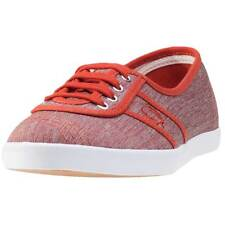 Fred Perry Aubrey Space Dyed Womens Trainers Amber New Shoes