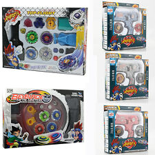 4D Beyblade Metal Masters Fusion Top Fight Rare Rotate Grip Launcher Collectable
