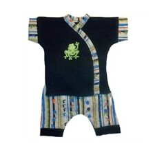 Baby Boys' Happy Frog and Bugs Shorts Clothing Set - 3 Preemie and Newborn Sizes