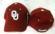 NCAA OU Oklahoma Sooners Maroon Fitted Zephyr Sports Cap