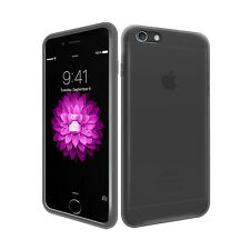 """SMOKE BLACK HYDRO GEL CASE COVER SKIN FOR NEW iPHONE 6 PLUS 5.5"""""""