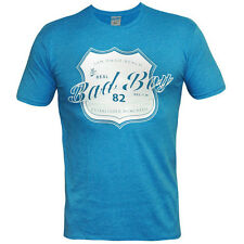Bad Boy Real Shield T-Shirt - Heather Blue