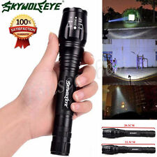 Zoomable 4000 Lumens 5 Modes CREE XML T6 LED Tactical Flashlight Torch Light