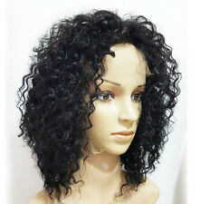Glueless Virgin Human Hair Wave Curly Synthetic Lace Front Wig /Full Lace Wigs