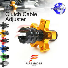 FRW 6Color CNC Clutch Cable Adjuster For Suzuki GSXR 1100 WP-WT 93-96 94 95 96