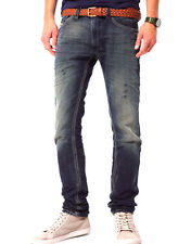 Diesel Jeans Thanaz 660Q Slim-Skinny Fit Straight Leg 0660Q