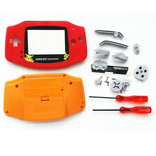 Red Orange Limited Pokemon Housing Shell Case for Nintendo Game boy Advance GBA