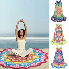 Sexy Women Mandala Bikini Cover Up Beach Swimwear Dress Pareo Sarong Wrap Shawl