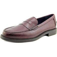 Cole Haan Pinch Campus Penny Men  Cap Toe Leather Burgundy Loafer