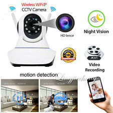 Wireless 720P Pan Tilt Network Security CCTV IP Camera Night Vision WiFi Cam