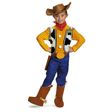 Disney  Toy Story Woody Halloween Costume with  Holster & Badge - Child Sz