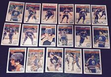 1982-83 OPC EDMONTON OILERS Select from LIST NHL HOCKEY CARDS O-PEE-CHEE