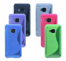 Cover Mobile Phone Shell Pouch Case Silicone for HTC ONE S9 + Screen protector