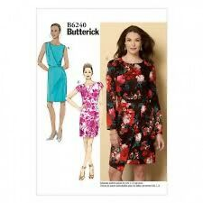 Butterick Ladies Easy Sewing Pattern 6240 Dresses with Cup Sizes (Butterick-6...