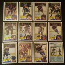 1984-85 OPC ST.LOUIS BLUES Select from LIST NHL HOCKEY CARDS O-PEE-CHEE