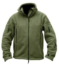 Military Mens Fleece Tad Tactical Jacket Outdoor Sport Hiking Hooded Coat