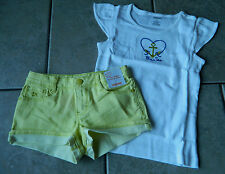 Outfit Gymboree,Bright and Beachy,NWT,top,shorts,2 pc.set,sz.6,10 yrs