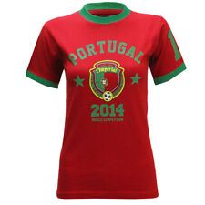 National World Cup Country Flag Team Football 2014 Soccer Top T-Shirt Womens Siz